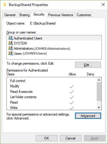 Create Secure Drive - Step B