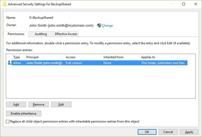 Create Secure Drive - Step K